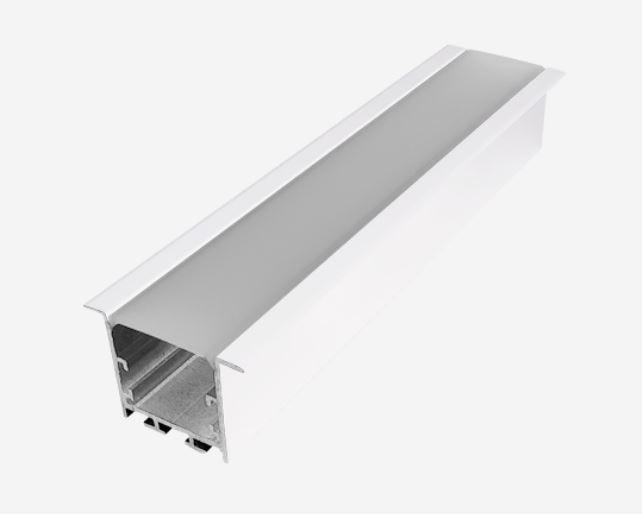 Perfil de Embutir Branco 50x35x2000mm PRO39251 OPUS