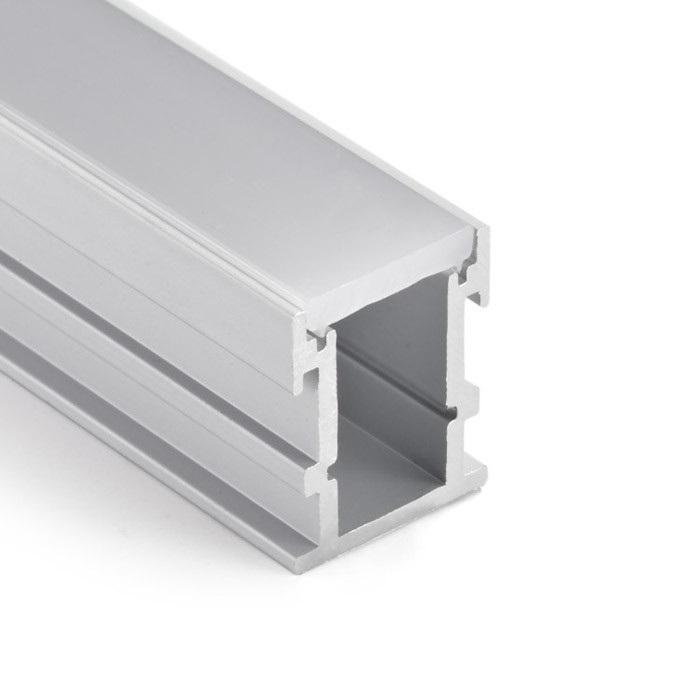 Perfil de Embutir Piso Para Fita LED EKPF41 20x25x2000mm Eklart