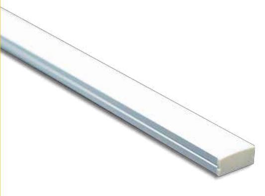 Perfil de Sobrepor LED INTEGRADO 28,8W/M 12V IP40 23,5X11X3000 MM NQ80328 NQ PERFIL E LED