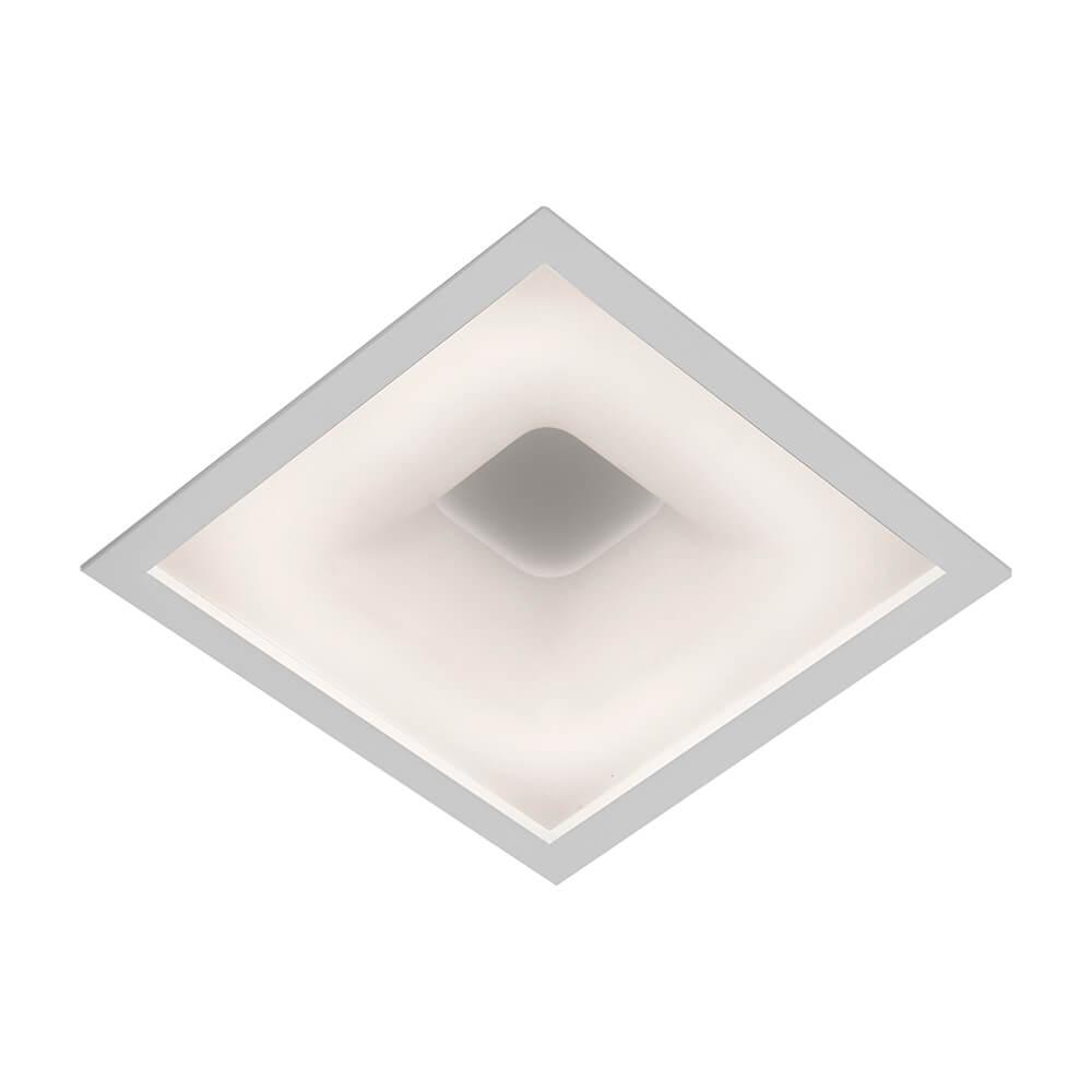 Plafon de Embutir Quadrado New Massu C28,5cm LED 20W 3000K Bivolt 470LED3  Newline