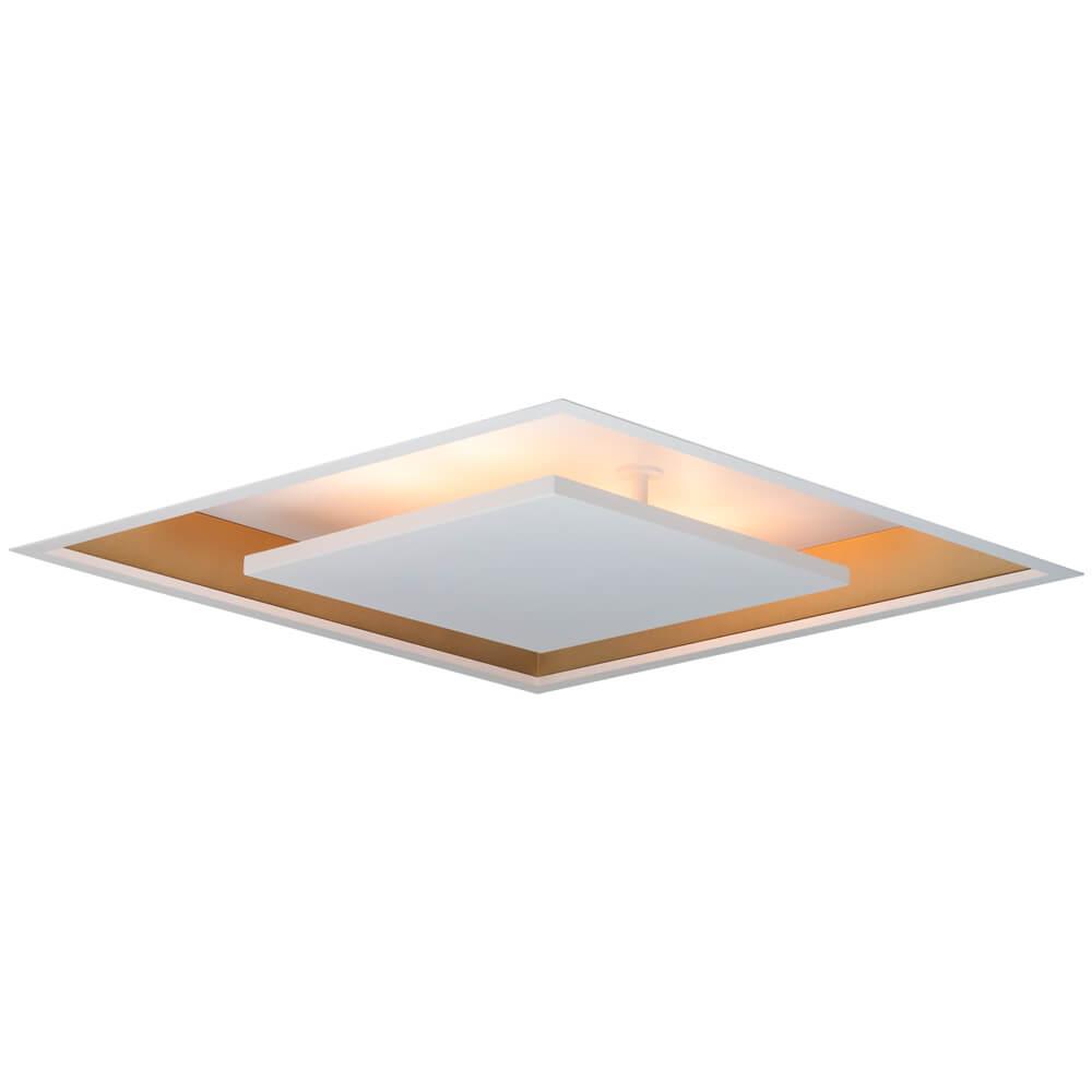 Plafon de Embutir Quadrado New Picture C62cm LED 30W 3000K Bivolt 542LED3  Newline