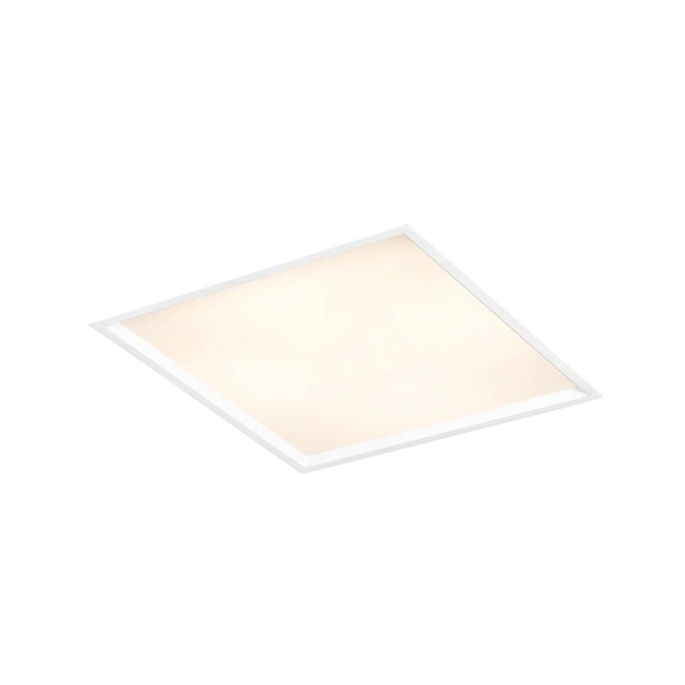 Plafon de Embutir Quadrado Slim C24cm 2x E-27 IN9001  Newline