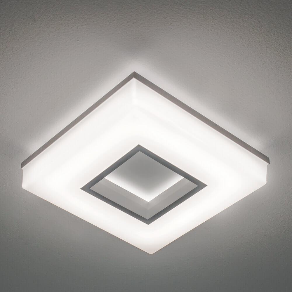 Plafon de Sobrepor em Alumínio Pixel C26,5cm LED 20W 3000K Bivolt 490LED3  Newline