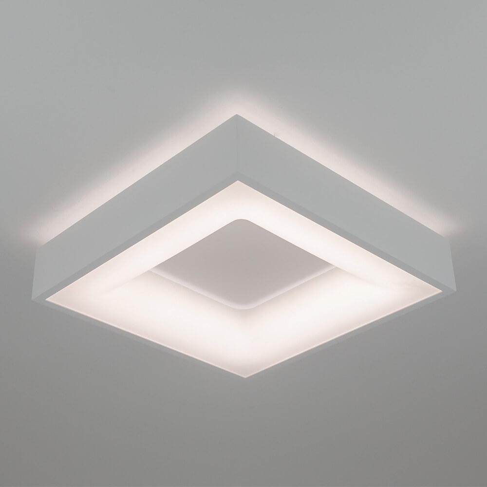 Plafon de Sobrepor Quadrado New Massu C47cm LED 40W 3000K Bivolt 482LED3  Newline
