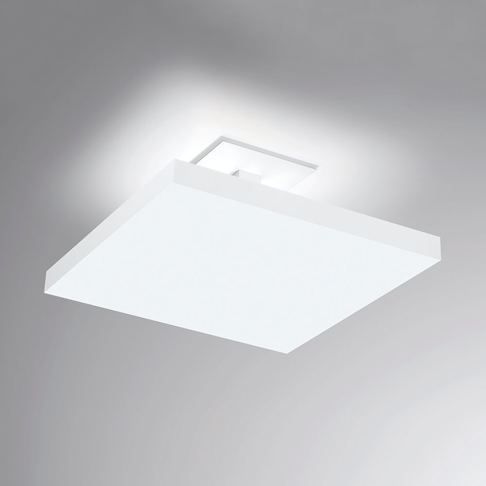 Plafon de Sobrepor Quadrado Tray C40cm LED 20W 3000K Bivolt 530LED3 Newline