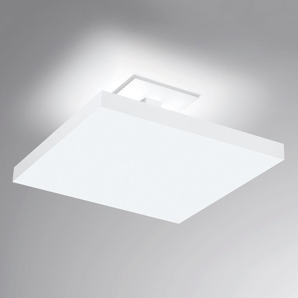 Plafon de Sobrepor Quadrado Tray C50cm LED 40W 4000K Bivolt 531LED4  Newline