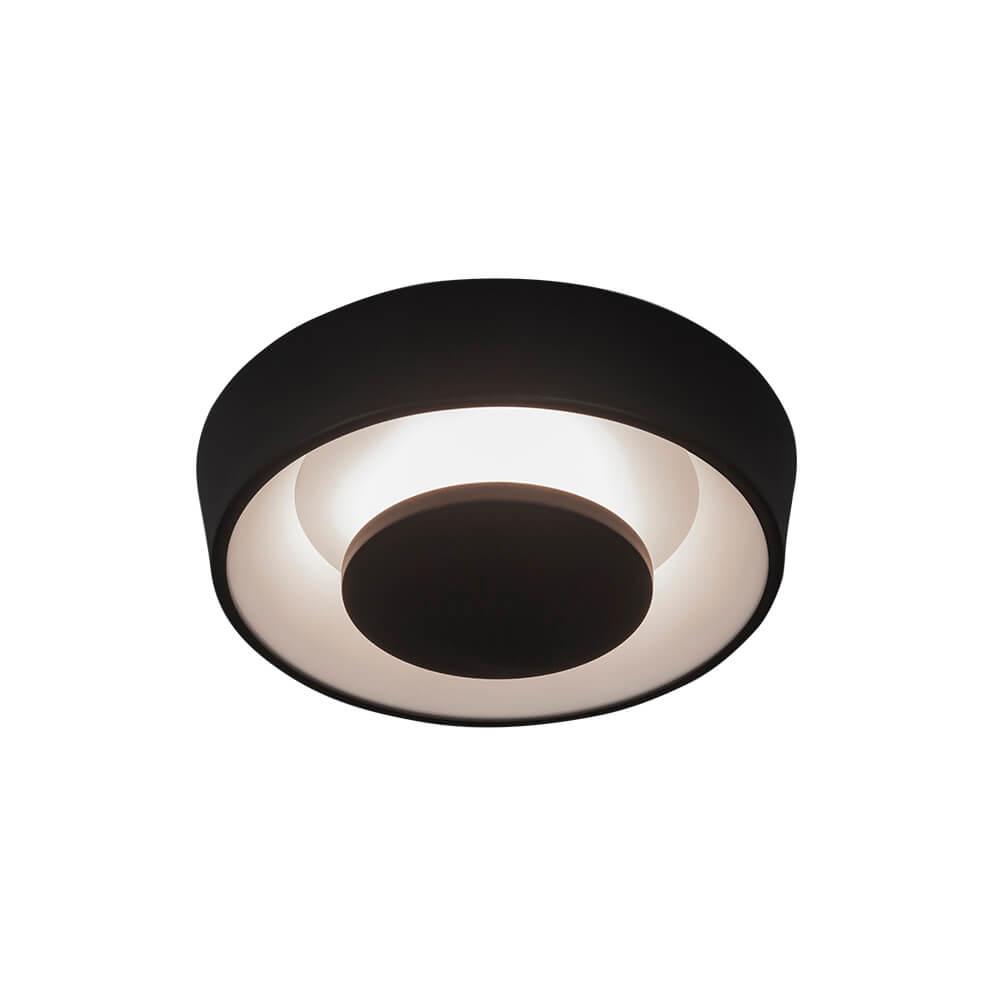 Plafon de Sobrepor Redondo Iris D35cm LED 18W 2700K 127V 450LED1 Newline
