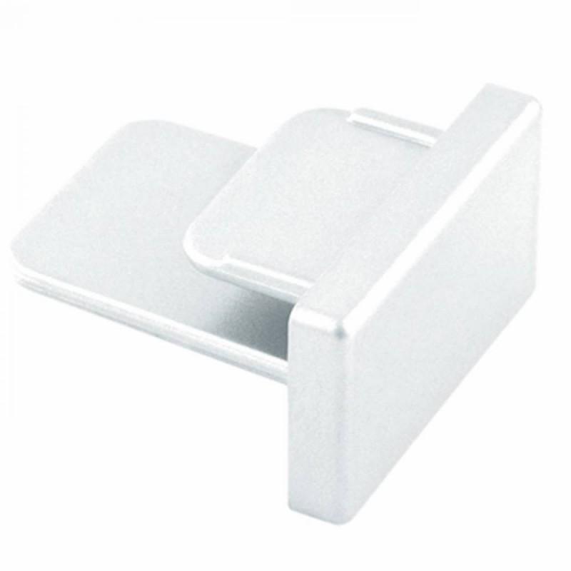 Ponteira Para Trilho de Sobrepor Energizado Branco SD1047BR  STELLA