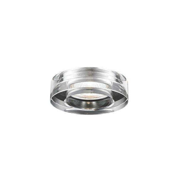 Spot de Emburtir 1x GU10 de Aço Cromado D 65mm SE-007/1.6 Mais Luz