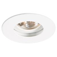 Spot de Embutir 1x Mini Dicróica  Redondo Direcionável em Alumínio D 75mm  NS235R  Bella Iluminação