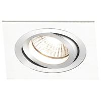 Spot de Embutir 1x PAR20 Quadrado Direcionável em Alumínio Branco C120mm NS5201B  Bella Iluminação