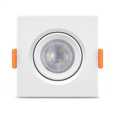 Spot de Embutir Quadrado DICROICA LED 5W 6000K FÊNIX Bivolt 11601 Kian