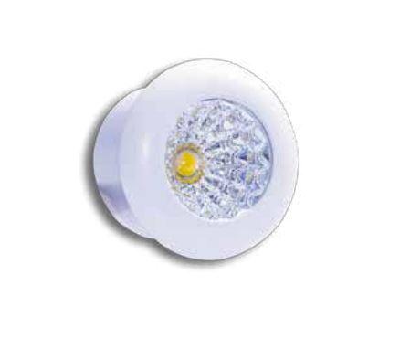 Spot de Embutir LED 1W 3000K IP40 Bivolt Redondo Baby LA-305  Led Art