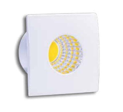 Spot de Embutir LED 3W 3000K IP40 Bivolt Baby Quadrado LA-307 Led Art