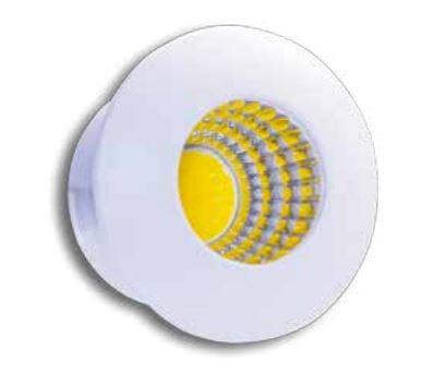 Spot de Embutir LED 3W 3000K IP40 Bivolt Baby Redondo LA-318 Led Art