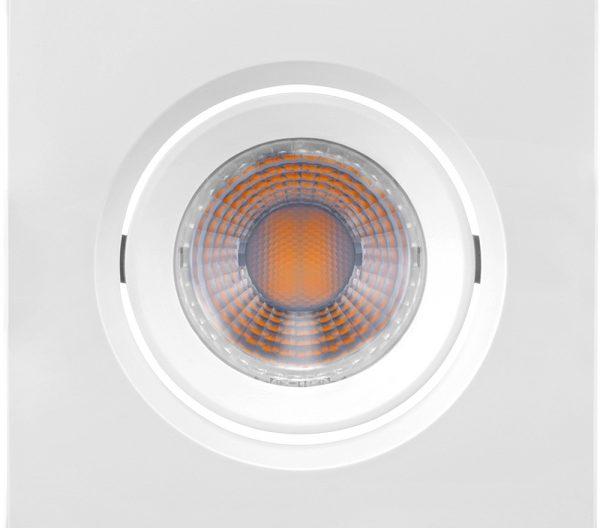 Spot de Embutir Quadrado Orientável LED MR11 3W 6500K Bivolt 435892 Brilia