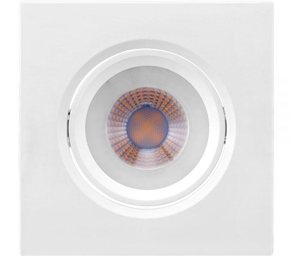 Spot de Embutir Quadrado Orientável LED MR16 4,5W 6500K Bivolt 435908 Brilia