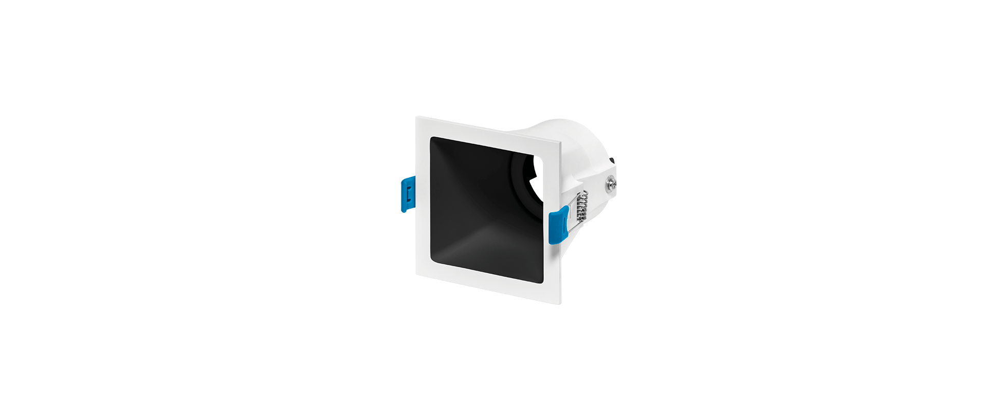 Spot de Embutir Recuado Square Ghost Luz Direcionável 1x Dicróica STH8945  Stella Design
