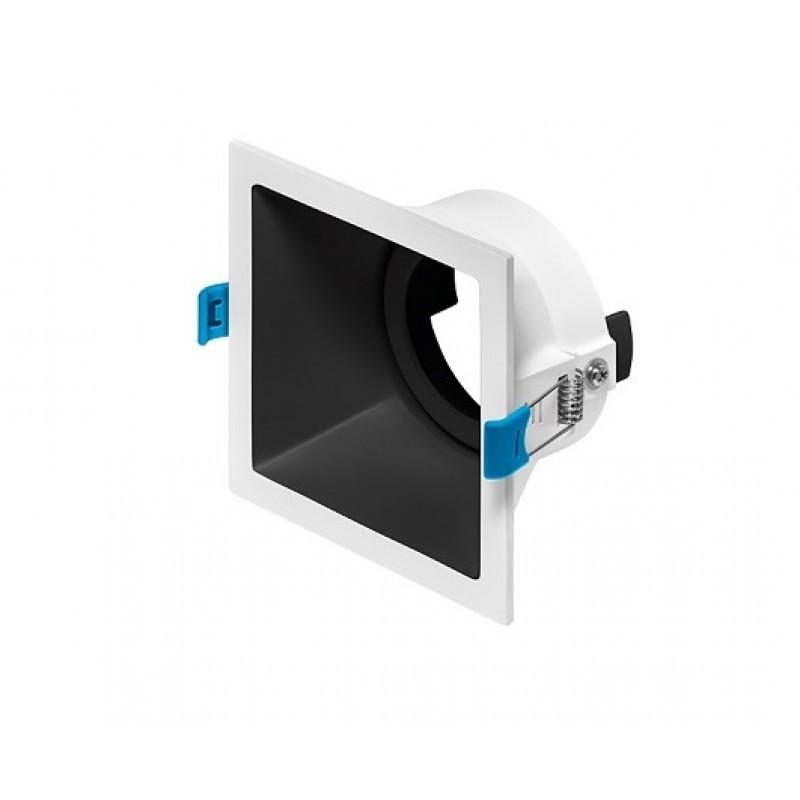 Spot de Embutir Recuado Square Luz Direcionável 1x AR111 STH8935  Stella Design