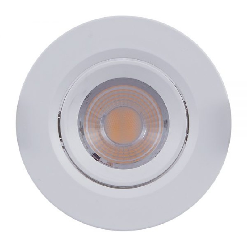 Spot de Embutir Redonda Orientável LED PAR20 7W 6500K Bivolt 302907 Brilia
