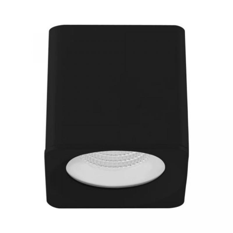 Spot de Sobrepor Downlight Cubo Preto LED 15W 2700K IP20 Bivolt 304499 Brilia
