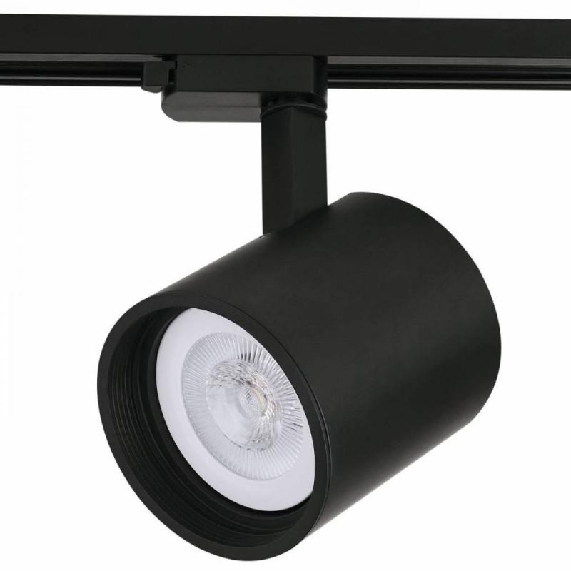 Spot Para Trilho 1X Par30 C/ Plug Sd1730Pto Stella