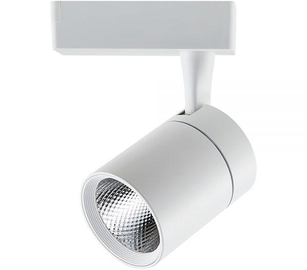 Spot para Trilho LED Branco 15W 2700K 24º IP20 Bivolt 438534 Brilia