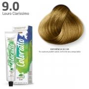 Coloração Permanente e Tonalizante sem Amônia Coloratto - Louro Clarissimo 9.0 - 60g