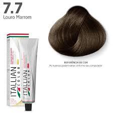 Coloração - Chocolate Claro 7.7 - Itallian Color 60g