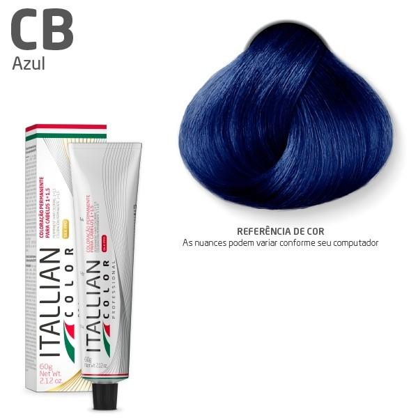 Coloração - Corretor Azul CB - Itallian Color 60g