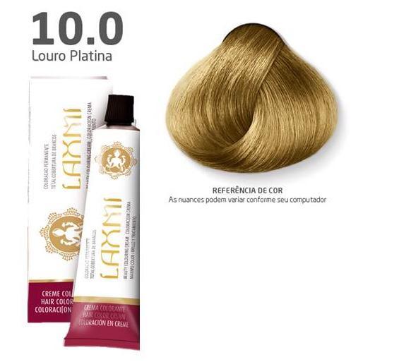 Coloração Laxmi - 10.0 Louro Platina 60g