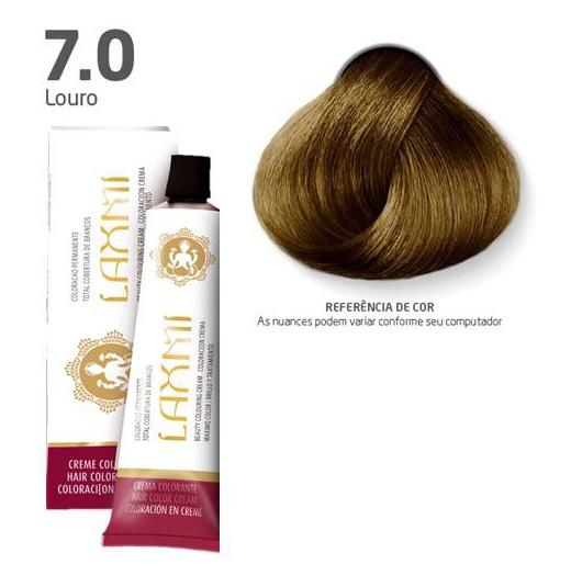 Coloração Laxmi - 7.0 Louro 60g