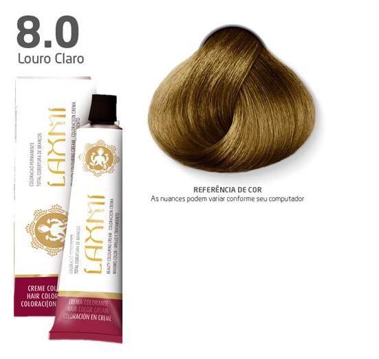 Coloração Laxmi - 8.0 Louro Claro 60g