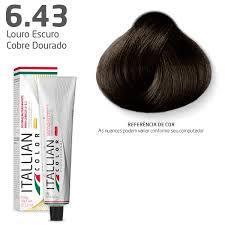 Coloração - Marrom 6.43 - Itallian Color 60g