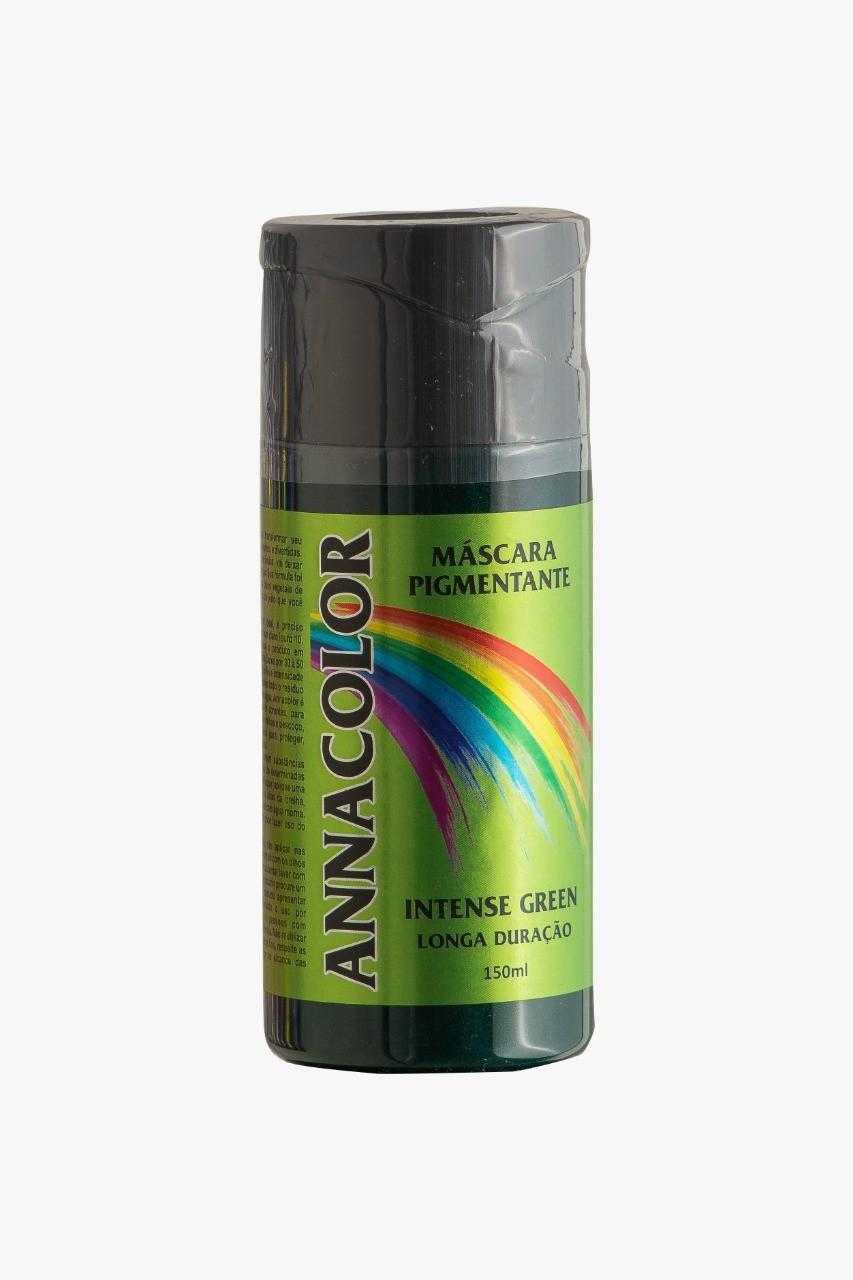 Coloração Pigmentante sem Amônia - Intense GREEN - Verde - 150ml Anna Color