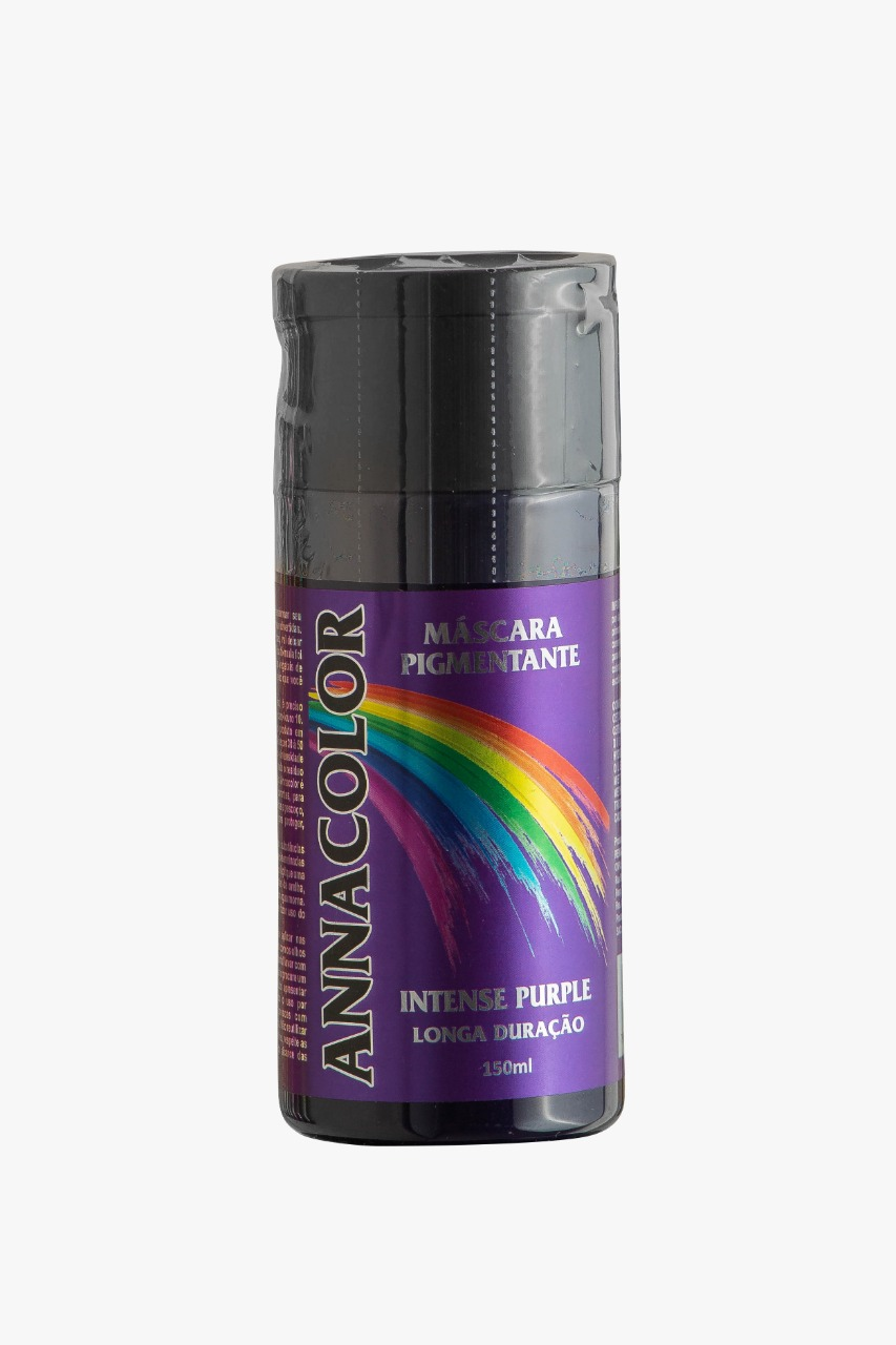 Coloração Pigmentante sem Amônia - Intense PURPLE - Roxo - 150ml Anna Color