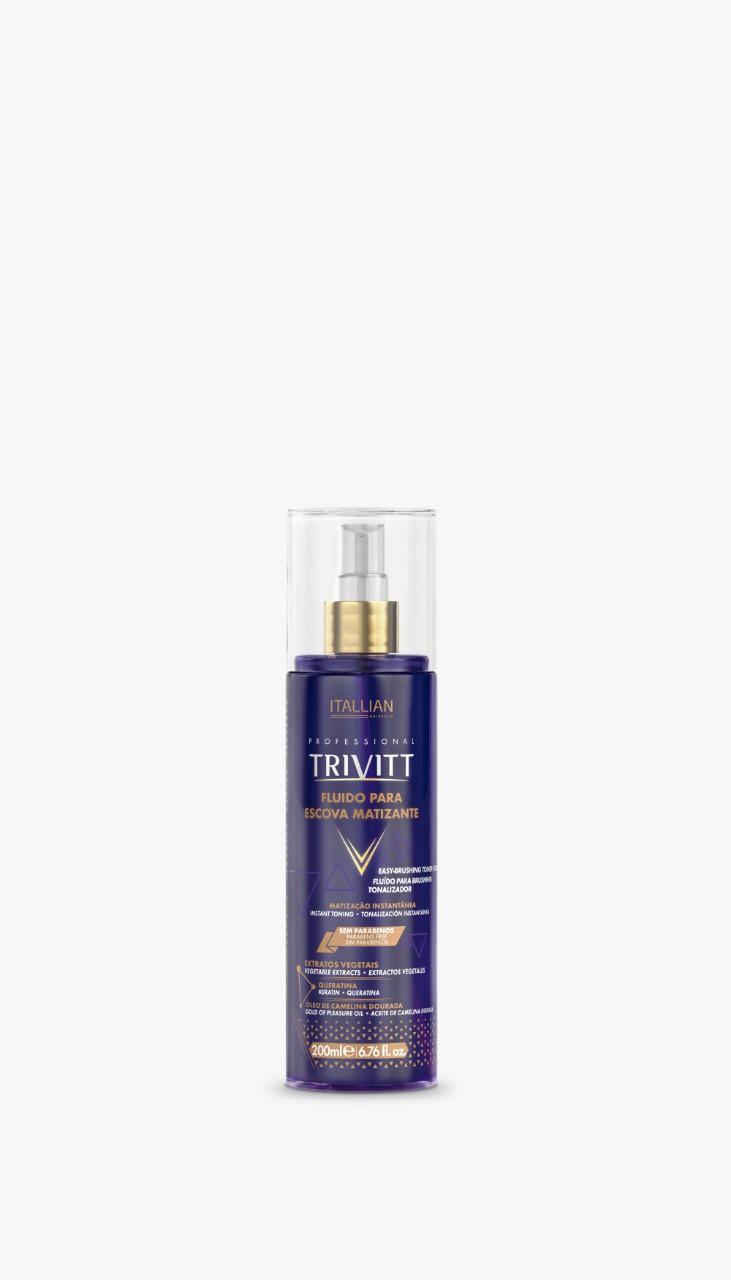 Fluido P/ Escova Matizante - Trivitt 200ml