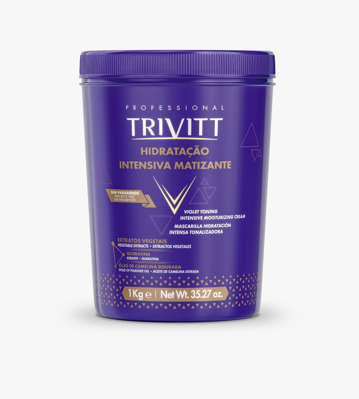 Hidratação Intensiva Matizante - Trivitt 1KG