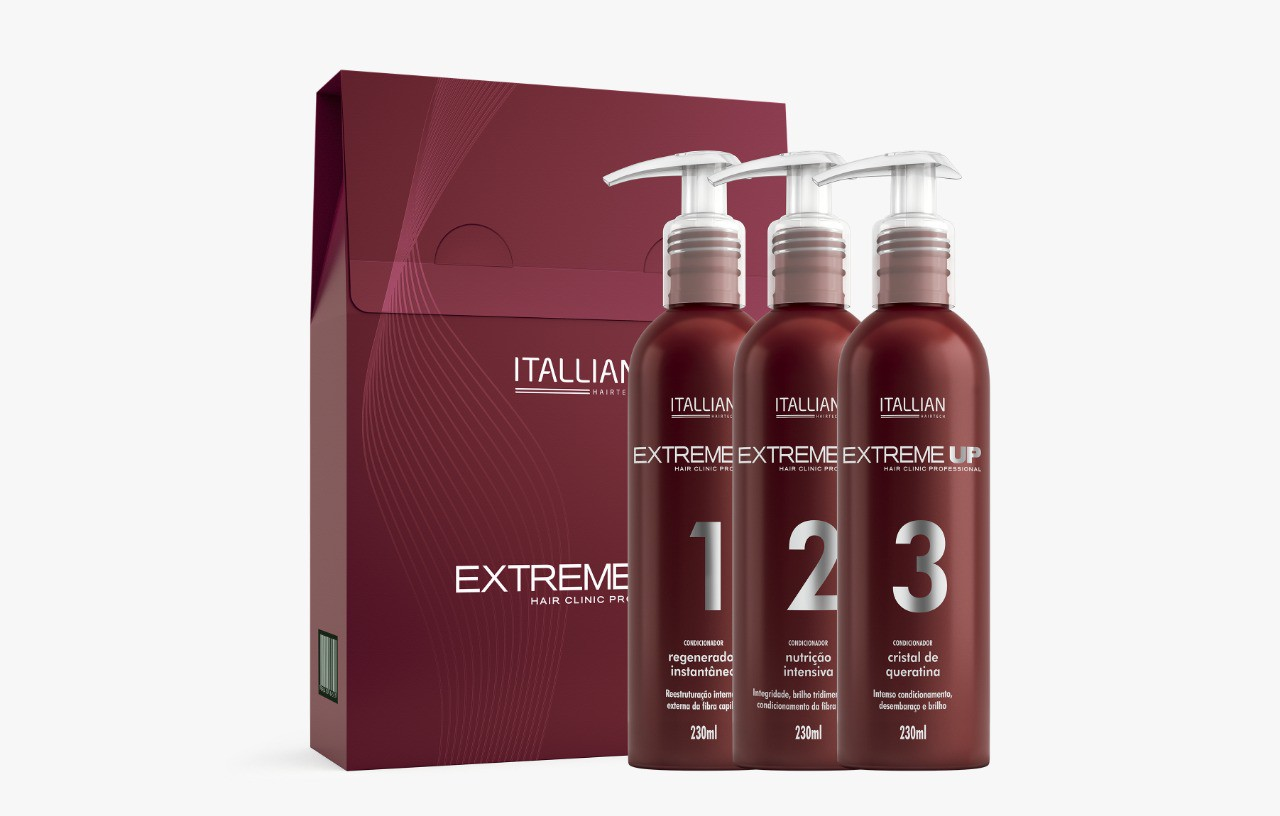 Kit Extreme UP - Itallian HairTech