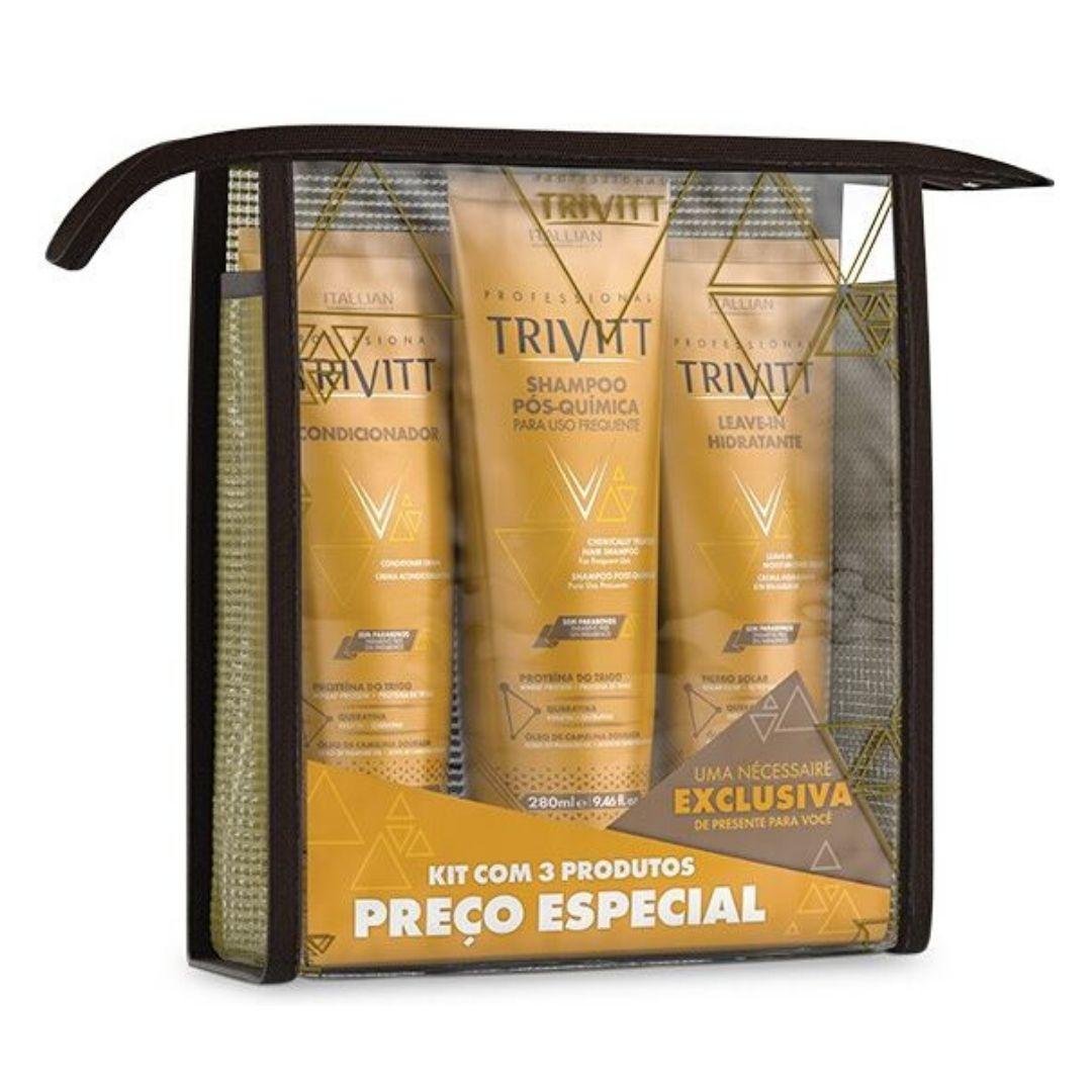 Kit Home Care Trivitt Com Leave-in Hidratante