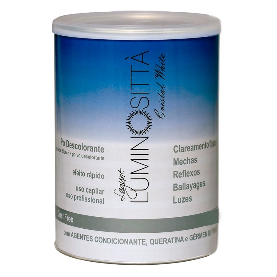 Pó Descolorante Cristal White - Luminositta 500g