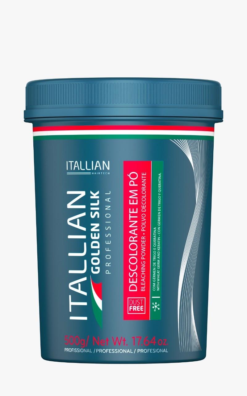 Pó Descolorante Itallian Golden Silk Azul 500g