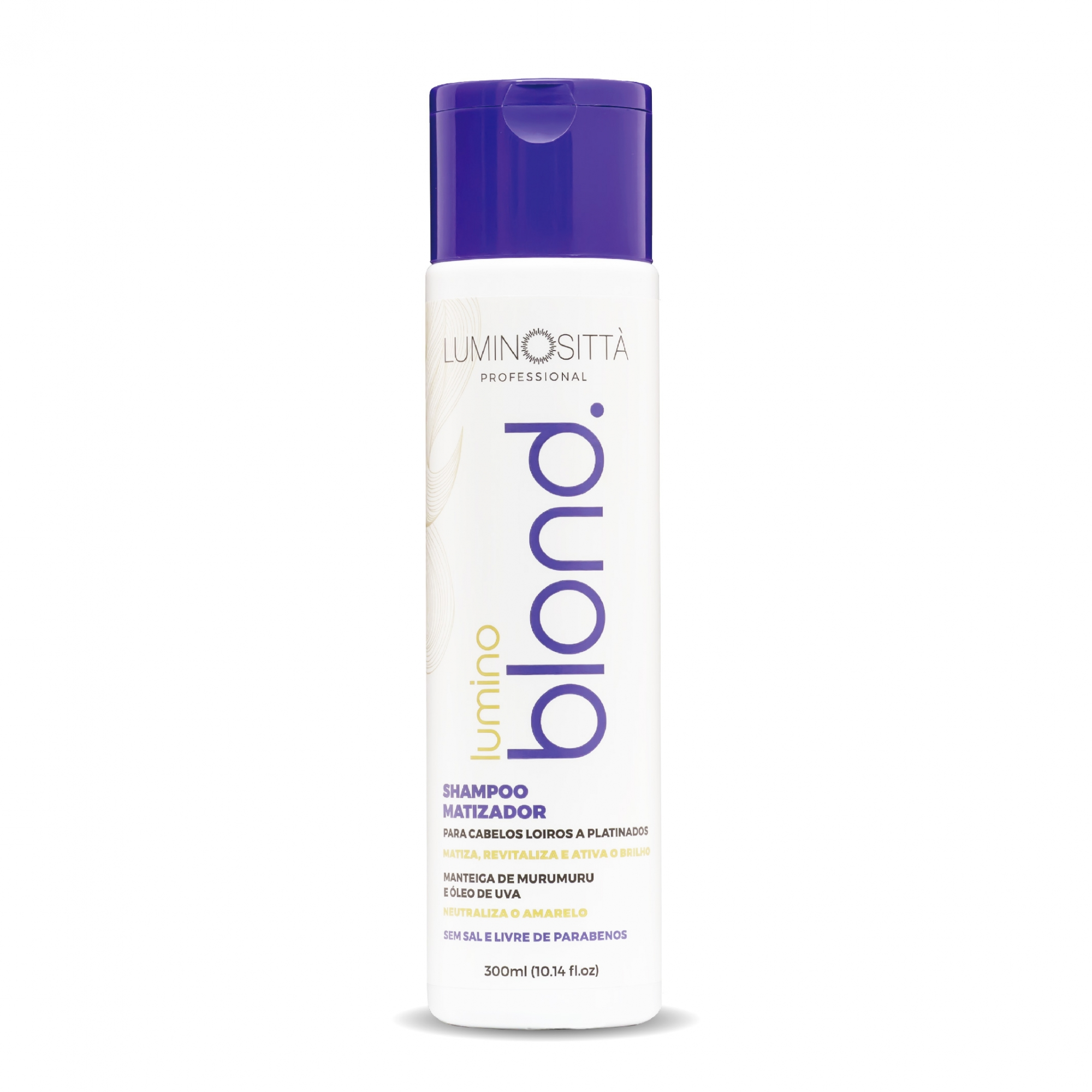 Shampoo Blond - 300ml Luminositta