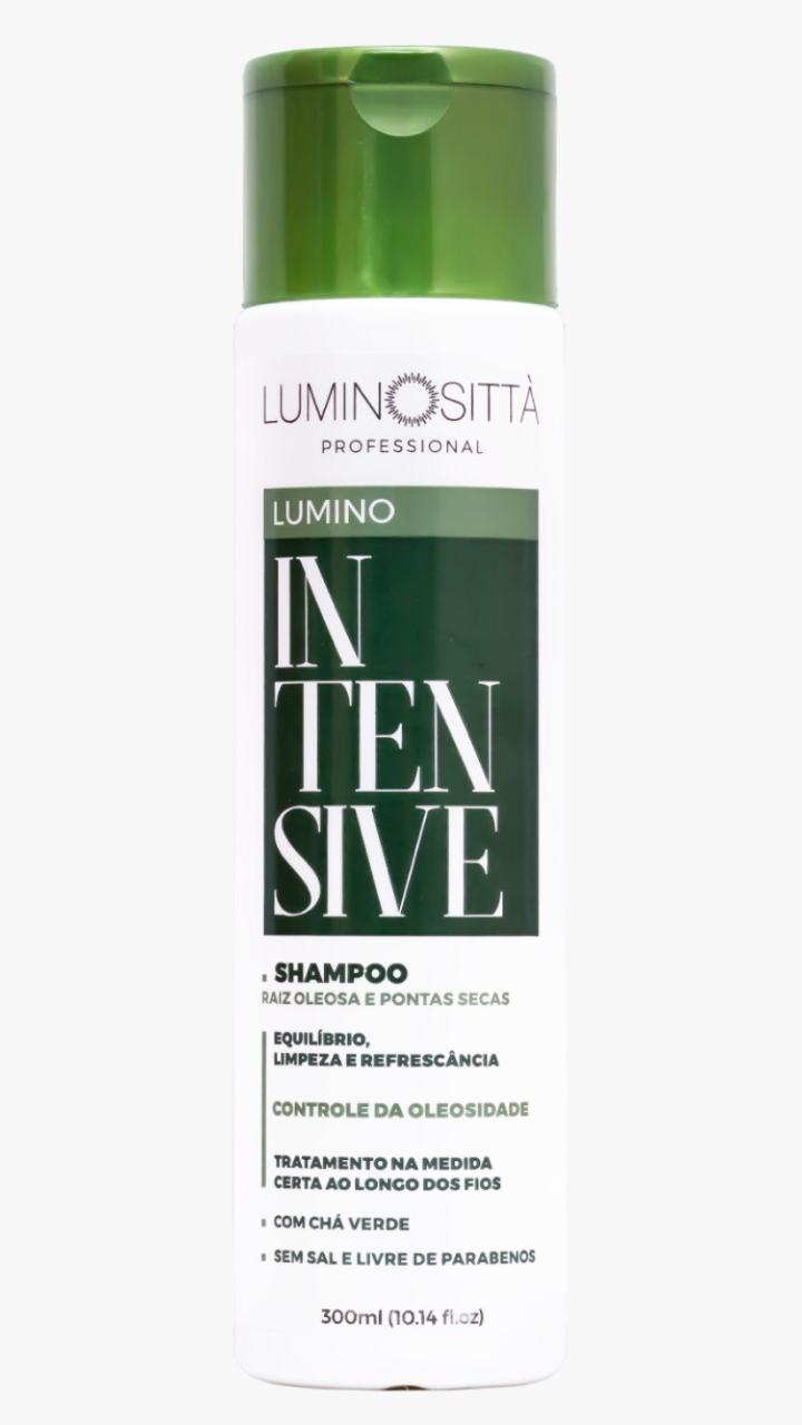 Shampoo Lumino Intensive Raiz Oleosa e Pontas Secas - Luminositta  300ml