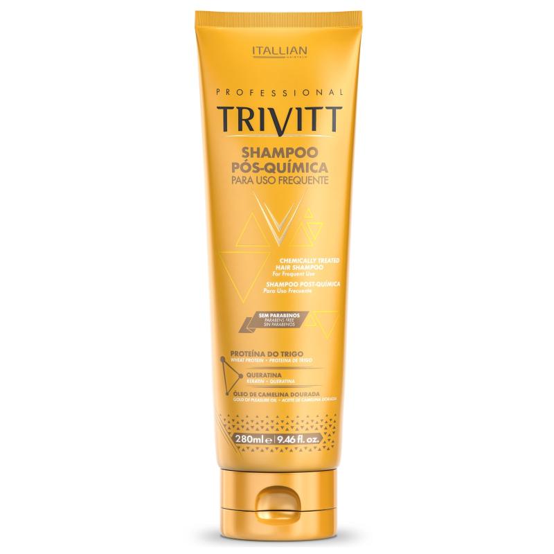 Shampoo Pós Quimica p/ Uso Frequente 280ml - Trivitt