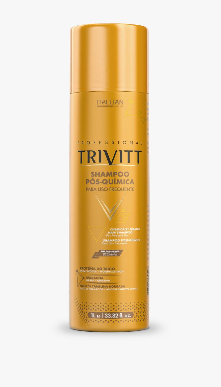 Shampoo Pós-Quimica p/ Uso Frequente Trivitt 1L