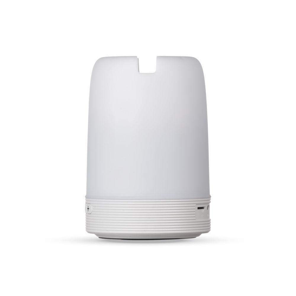 Caixa de Som Multimídia com Porta Caneta e Luminária 7100020