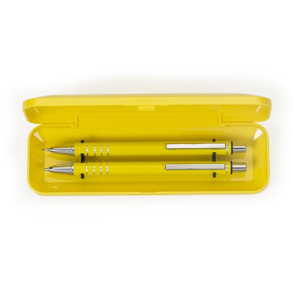 Conjunto Caneta e Lapiseira Semimetal 8000621