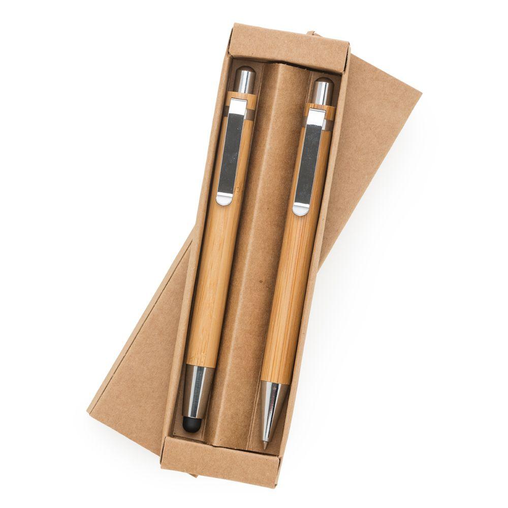 Kit Ecológico Caneta e Lapiseira Bambu LX13796