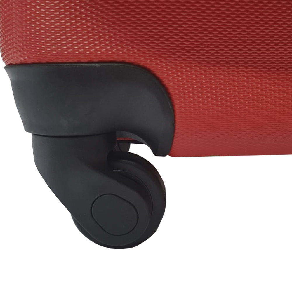 "Mala de Bordo Rígida Porta Notebook USB 360 M 20"" Laranja"